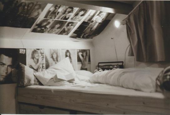 Suzanne Beenackers Jon Bon Jovi fangirl room February 1988 2