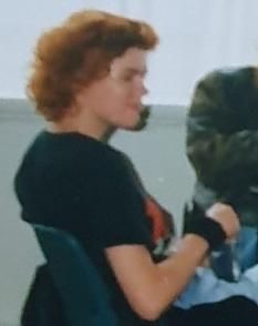 1989 rolling a cigarette Photo (outtake) Daphne de Bruijn